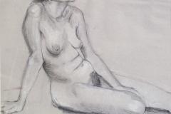 218-Figure-Drawing-Conte-Crayon-16-x-23