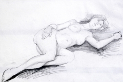222-Figur-Drawing-Graphite-15-x23