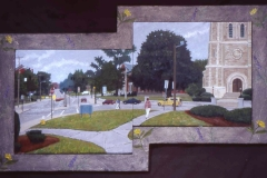 32.Whitinsville-Commons-Diptych-oil-on-board-34x35-2005_