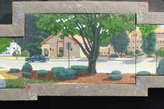 34 Whitinsville Commons Suite Oil on Board 28x90