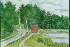 104.Watercolor-Brookfield-Pond-10x14-2011
