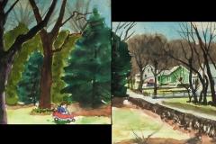 106.-Watercolor-Julian_s-Car-12x28-2013